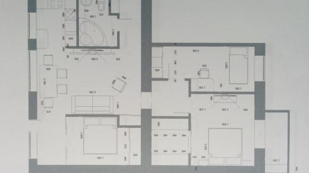 Четырехкомнатная квартира люкс на Гагарина