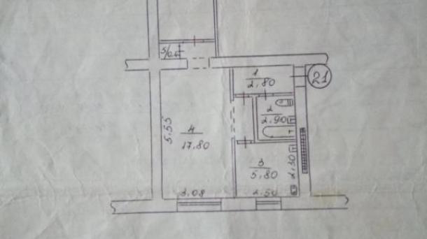 Продам квартиру на Крэсе по красной линии