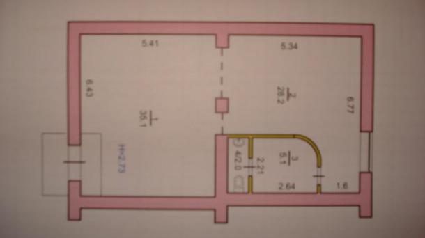 Встроенное помещение на Мусорского (44 кв-л)