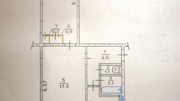Двухкомнатная квартира на Соцгороде