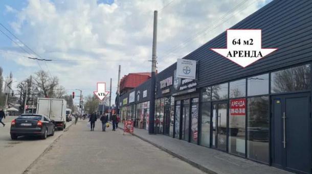 Оренда торгової площі від 32 кв.м. до 64 кв.м в новому торговому комплексі.